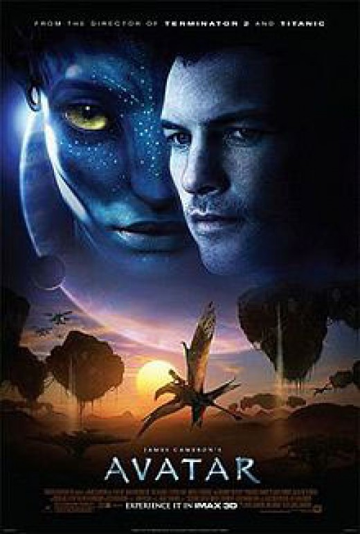 Teaser Poster for Avatar the Movie