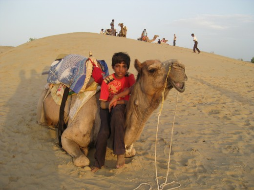 My guide through the Thar Desert