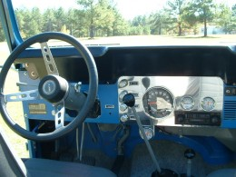 Jeep CJ5 Gets a new Dashboard