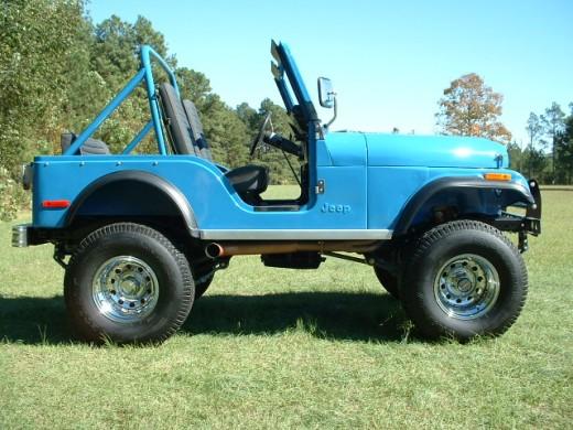 Restored Jeep CJ5