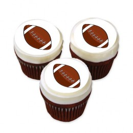 Football cupcakes, always a touchdown!