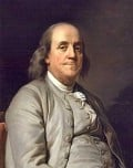 in 1774, Benjamin Franklin and Benjamin Rush founded America's first antislavery society