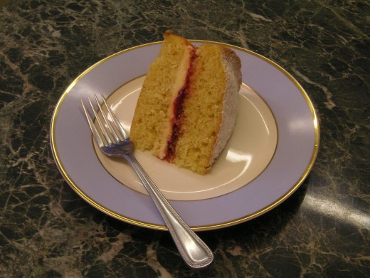 Anyone For Tea? Accompanied By Home Made Victoria Sponge Cake of Course!