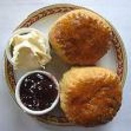 Scones, Jam and Clotted Cream