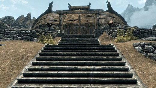 Jorrsavkr the mead hall of the Companions