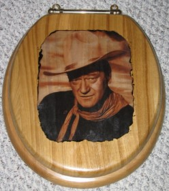 How to Make a John Wayne Toilet Seat