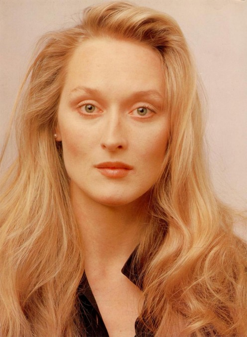 Meryl Streep in her younger days.