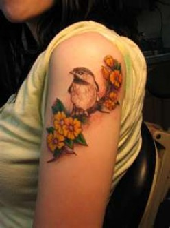 Yellow Finch Tattoos