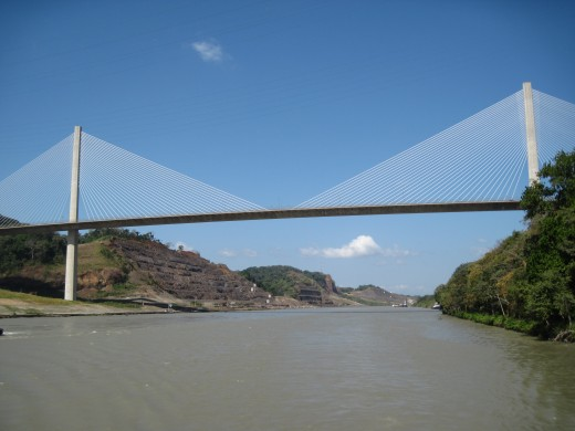 Centennial Bridge over the Panama Canal
