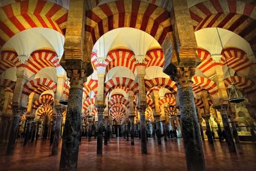 Mezquita de Cordoba, Spain
