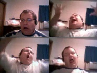 Numa Numa, Gary sings along to O-Zone's pop song, becoming a You Tube hit!