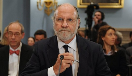 John Corzine, CEO of MF Global