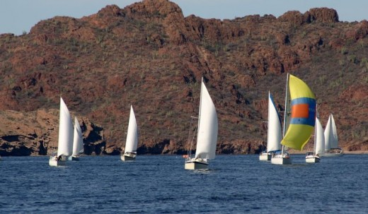 Tucson Sail Club Regatta, San Carlos, Mexico