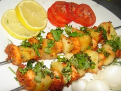 Prawn and Pineapple Tikka Recipe.
