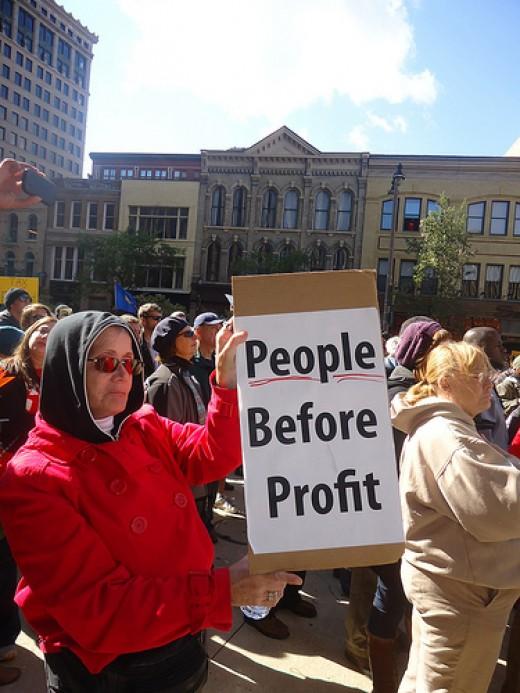 Occupy Wilwaukie from wisaflcio Source: flickr.com