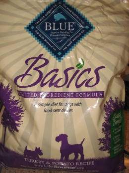 Blue Basics turkey and rabbit dry dog food, is a dog food that our allergic dog does well on, next to Royal Canin's hypoallergenic wet can mix. All dogs are different and that includes allergic dogs. So you may have to experiment with a few brands.
