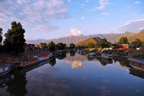 River Jehlum in Kashmir