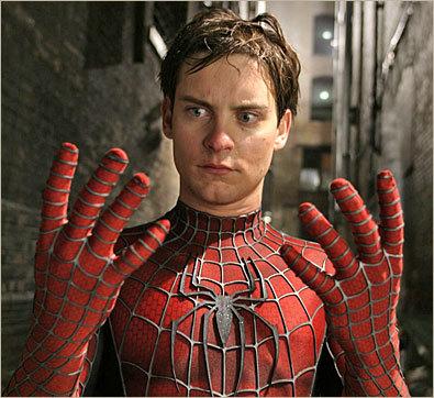 Tobey McGuire as Spider-Man