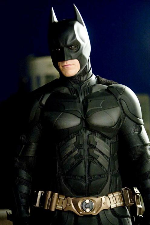 Christopher Bale as The Dark Knight (Batman)