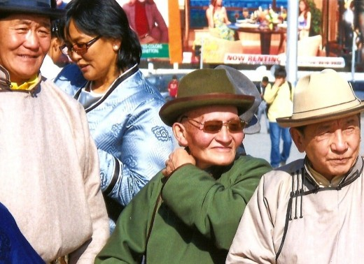 Rub shoulders with the Mongolians. You will learn a lot about how they live at the market.