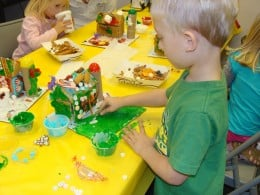 Imagination and creativity are enhanced when children have hands on activities