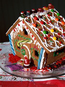 Gingerbread houses are fun to make and good to eat!