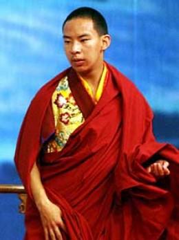 China's  Panchen Lama, Gyaincain Norbu
