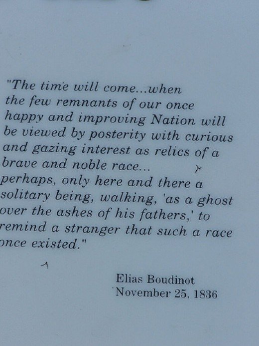 A quote from Elias Boudinot