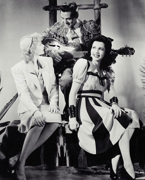 Lucille Ball, Desi Arnaz and Ann Miller