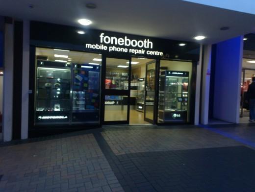 Fonebooth Huiddersfield