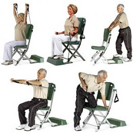 Some chair exercises