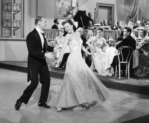 Ann with Fred Astaire in 'Easter Parade', 1948
