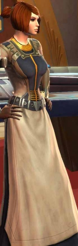 SWTOR Jedi Knight Companion Kira Carsen