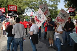 So grave is the conflict that many dressed in flip-flops, no ass torn jeans and white t-shirts to show their respect for their fellow strikers.