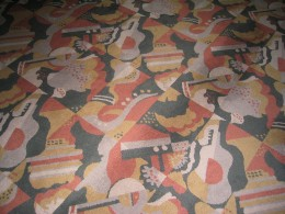 Carpet in the lobby of Radio City Music Hall, Manhattan, New York City