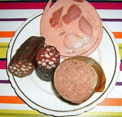 Leberwurst, Blutwurst and Shinkenwurst