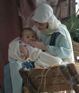 Celebrating Jesus' birth on Christmas Day!