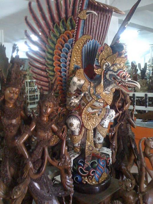 This shop is in Legian Street in Kuta, Bali.