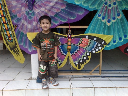 Art craft shop in Bali.
