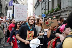 What is the 'Occupy Wall Street' movement trying to achieve?