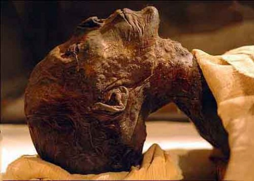 Hatshepsut's mummy, identified as I was in the midst of writing this paper