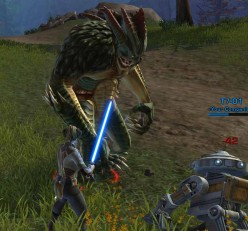 SWTOR Jedi Knight Lightsaber Quest