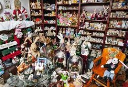 Some of The Bunny Museum's 28,000 Bunny-Related Items