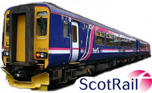 A Scotrail Train