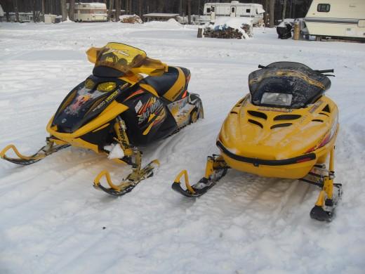 Ski Doo Snowmobiles