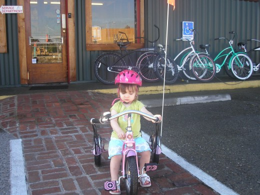 Bicycling is for all ages.