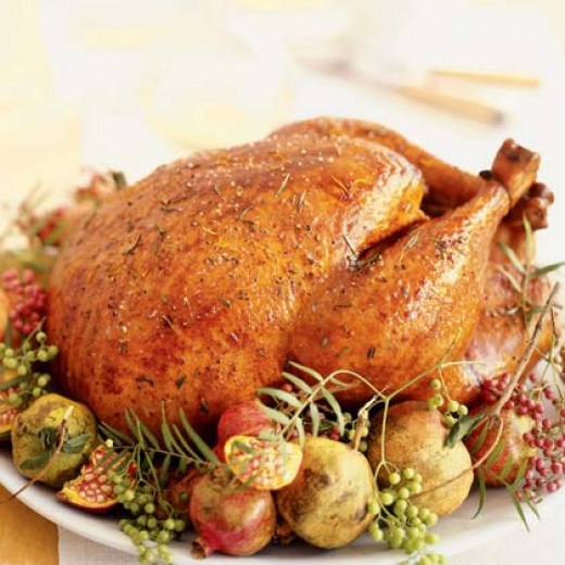 Thanksgiving rosemary roasted turkey recipe