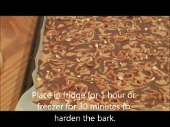 How to Make Chocolate Peanut Butter Pretzel Bark [video]