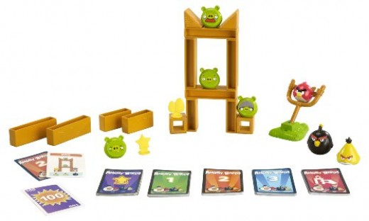 Angry birds knock on wood A new angry birds board game
