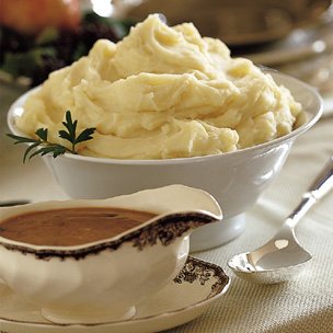 Thanksgiving Garlic Mashed Potatoes Recipe